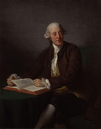 Arthur Murphy (writer) - A 1777 portrait of Arthur Murphy by Nathaniel Dance