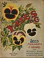 Arthur Yates and Co. Ltd, Auckland -(Pansies). Yates' nursery catalogue. 1899. Front cover). (21662791745).jpg