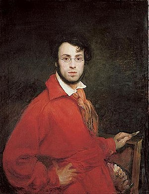 Ary Scheffer - Self-portrait by Scheffer