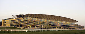 Laing O'Rourke - The new Ascot stand built by Laing O'Rourke to a design by Populous and Buro Happold; Completed 2006.