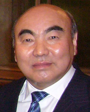 President of Kyrgyzstan - Image: Askar Akayev 2007 12 05