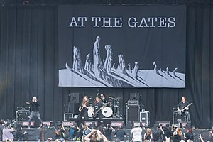At the Gates - At the Gates live at Summer Breeze Open Air in 2016
