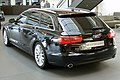 Audi A6 Avant 3.0 TDI quattro S tronic Phantomschwarz Heck 1.JPG