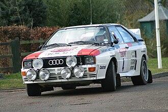 1983 World Rally Championship - An ex-Mikkola Audi Quattro A2