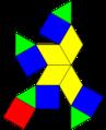 Augmented cuboctahedron net.png