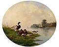 August Knip Enten am Ufer 1859.jpg