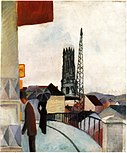 August macke-cathedral at freiburg switzerland.jpg