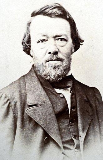 Auguste Borget - Portrait of Borget