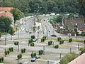 Aussicht Plattform Zeche Zollverein Essen vom 24 08 2012 Nr 8 Zufahrt.JPG