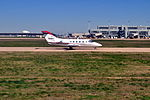 Austin-Bergstrom International Airport - Beechcraft Beechjet 01.jpg