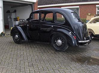 Austin 8 - 4-door Saloon 1939
