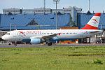 Austrian Airlines, OE-LBJ, Airbus A320-214 (20135855090).jpg