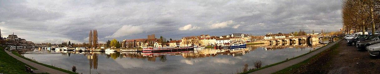Auxerre wikip dia for Piscine auxerre