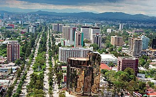 Avenue in Guatemala City