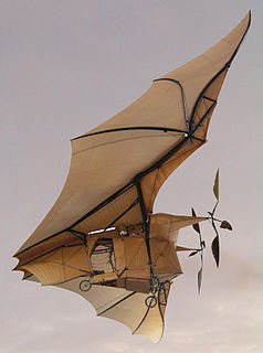 experimental steam-powered aircraft by Clement Ader