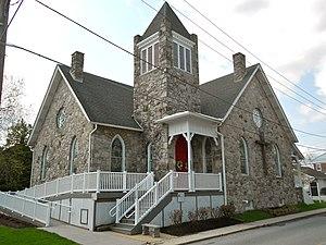 Avondale, Pennsylvania - Image: Avondale Chesco PA United Methodist