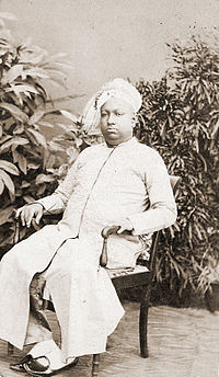 Ayilyam Thirunal Bala Rama Varma II, Travancore (1832-1880).jpg