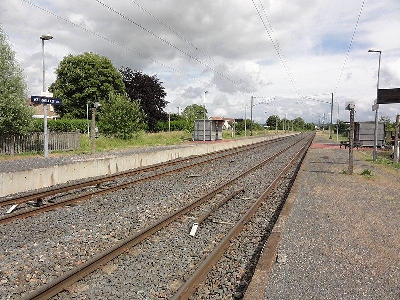 Azerailles (M-et-M) gare
