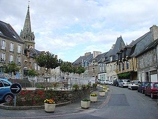 Bécherel Commune in Brittany, France