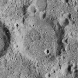 Büsching (crater) impact crater