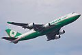 B-16412 - 747-45E - EVA Airways - TPE (11751143815).jpg