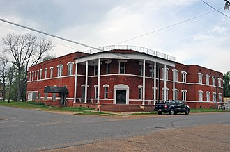 National Register of Historic Places listings in Avoyelles Parish, Louisiana - Image: BAILEY HOTEL, BUNKIE, AVOYELLES PARISH, LA