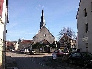 Bellefond, Côte-d'Or - Image: BELLEFOND R 1