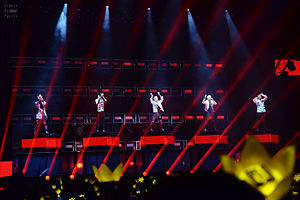 Made World Tour - Big Bang performing in Dalian, China