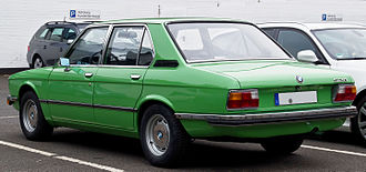 BMW 5 Series - E12 rear