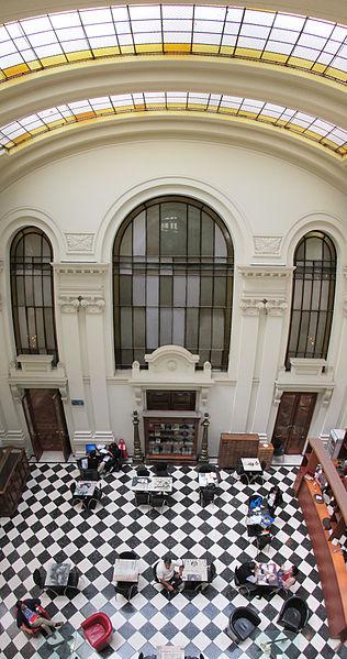 File:BNCL - Hall Moneda y Cafetería (Panorama Segundo Piso).jpg