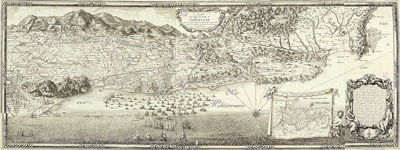 Plano del Sitio de Barcelona