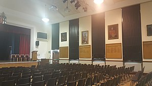 Bishop Vesey's Grammar School - The main school hall, known as 'Big School'.