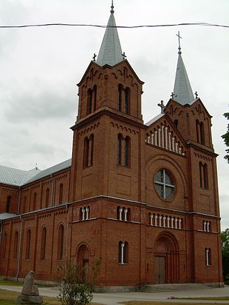 Plungė - St. John the Baptist Church