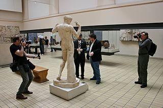 Visita de wikipedistas al Museo Británico