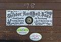 Bad Mitterndorf Tauplitz Hollhaus DAV plaque.jpg