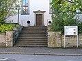 Bad Rappenau - Bonfeld - Evangelische Kirche - Nordtreppe und Nordportal.JPG