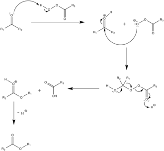 Baeyer–Villiger oxidation - Reaction mechanism of the Baeyer-Villiger oxidation