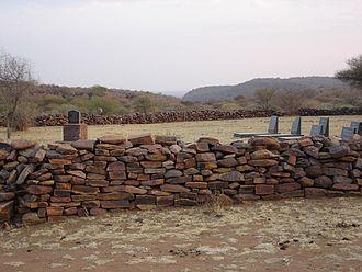 Molepolole - Image: Bakwena royal cemetery