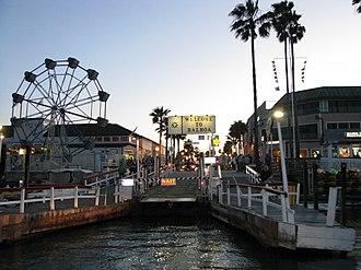 Balboa Peninsula, Newport Beach - Image: Balboa Peninsula Ferry Terminal 01