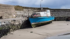 Balbriggan Harbour, The Portisham Is A Privately Owned Minesweeper - panoramio.jpg