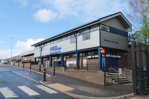 Ballymena railway station - Image: Ballymena (2)