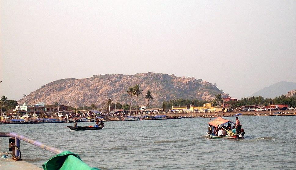 Balugaon on Chilika, Odisha, India