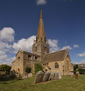 St Marys Church, Bampton Church in Oxfordshire, England
