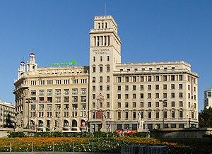 Banesto - Banco Español de Crédito on Plaça de Catalunya, Barcelona
