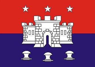 Cabedelo - Image: Bandeira Cabedelo