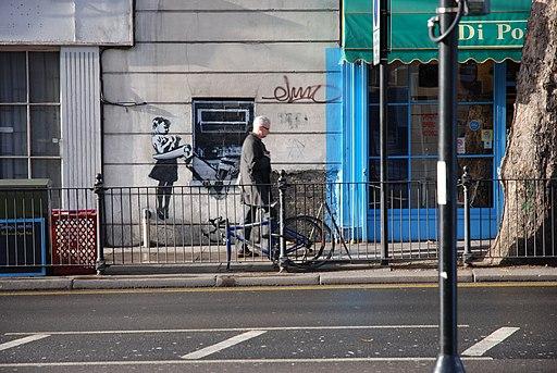 Banksy Girl ATM