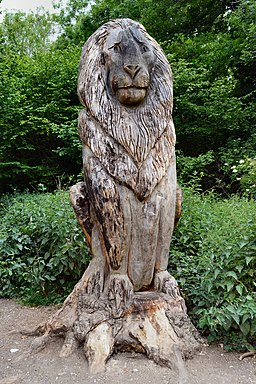 Banstead Woods, Narnia trail, Lion