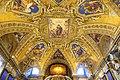 Baptistery ceiling, by Domenico Crespi il Passignano, 1610 - Santa Maria Maggiore - Rome, Italy - DSC05690.jpg