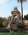 Barcelona Parc de la Ciutadella Font de la Cascada 01.jpg