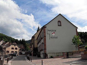 Barembach - The Town Hall / School